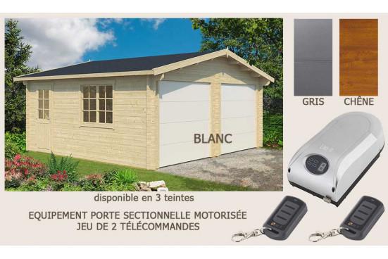 Garage DAX 44mm - 28,4m² intérieur