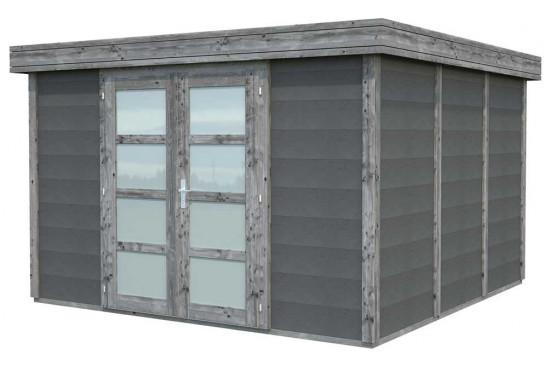 chalets bois-béton - 9.83m² intérieur