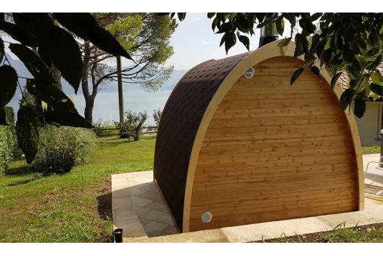 Sauna Pod 300 d'extérieur - 2 à 4 personnes