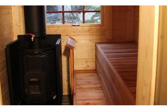 KOTA GRILL bois VALTOLA madriers 44 mm - 9 + 4 m²