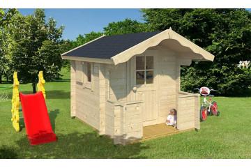 Cabane Enfant BILLY 28mm - 2,08m² intérieur