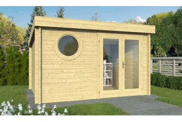 Abri de jardin LORIENT B 44 mm - 9.40 m² intérieur
