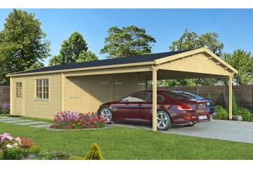 Garage MORZINE 44mm - 20.38m² intérieur+28.46m²