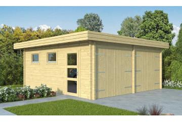 Garage double MARTIGUES 70mm CC- 28.02m² intérieur