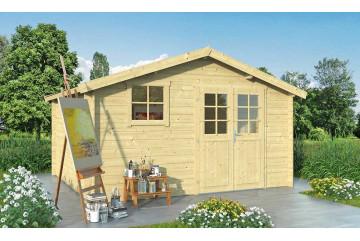Abri de jardin VIOLETTE 13 28 mm - 12.38 m² intérieur