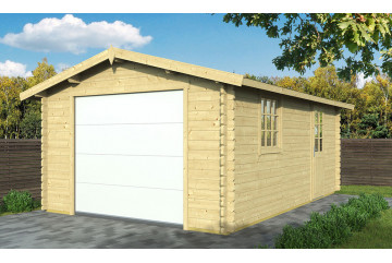 Garage CHAMBERY porte sectionnelle 44mm - 18,94 m² intérieur