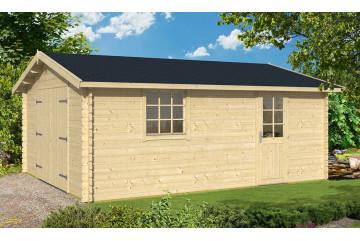 Garage GRENOBLE 70mm contrecollés - 23,8m² intérieur