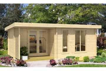 Abri de jardin OKRNEY 5 70mm - 19m² intérieur