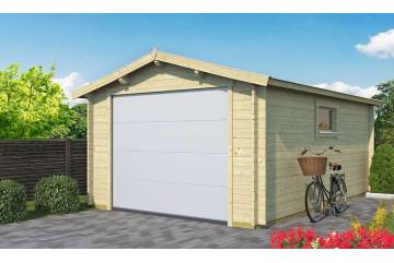 Garage GRAND LIMOUSIN Porte sectionnelle 34mm - 15,3m² intérieur