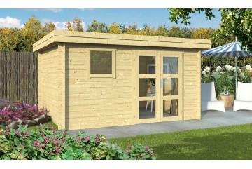 Abri de jardin extérieur LYON 11 28 mm - 10.89m² intérieur