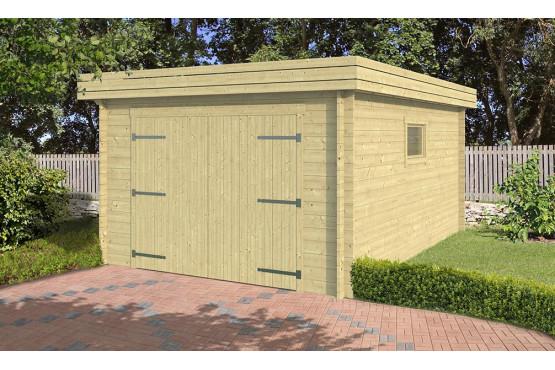 Garage voiture NANTERRE 34mm - 15,3m² intérieur