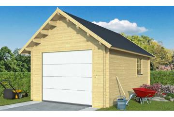 Garage Pau porte sectionnelle 44mm - 18,12m² intérieur