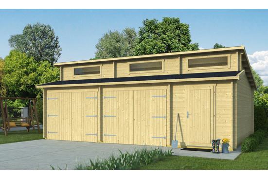 Garage HAWAÏ 44mm - 39,27m² intérieur