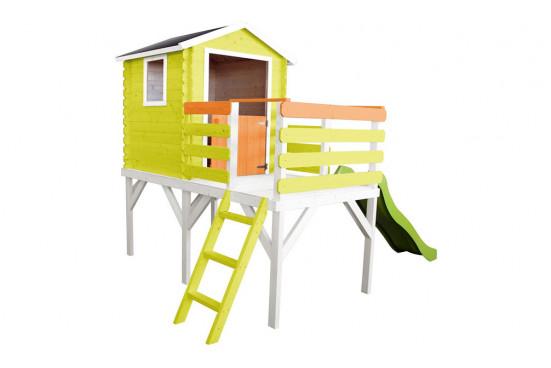 Maisonnette pour enfants en bois sur pilotis Alice