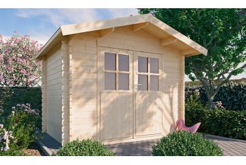 Abri de jardin MIOMO 34 mm - 4.89m² intérieur
