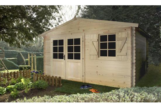 Abri de jardin Lagor 28 mm - 13.99m² intérieur