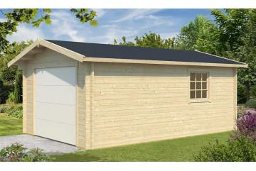 Garage Occitanie porte sectionnelle - 44mm - 18,12m² intérieur