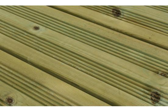 Lames de terrasse pin autoclave classe 4 (Longueur 5m)
