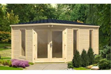 Abri de jardin Edinburgh 40mm - 11,4m² intérieur
