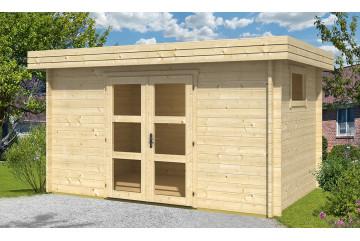 Abri de jardin BANDOL 44mm - 9,4m² intérieur
