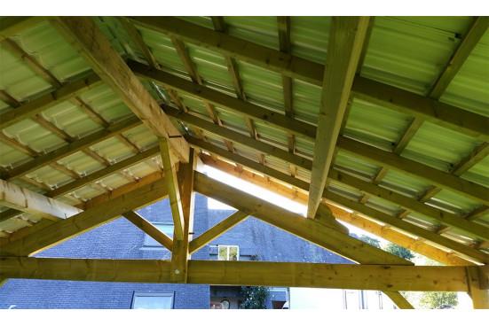 Carport Granville - 43,5 m² couvert