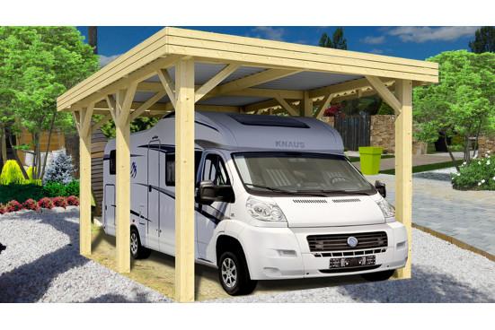 Carport garage voiture - EVASION1 camping car