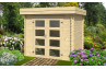 Abri de jardin ALSACE 34 mm - 5m² intérieur
